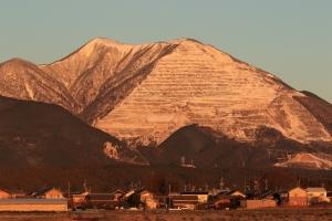早朝の藤原岳