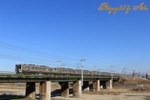 211系9連回送列車