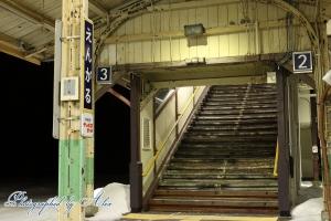 歴史ある遠軽駅