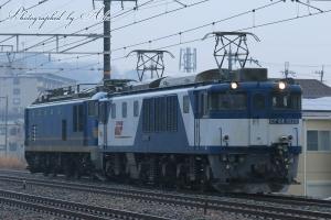8865レ(=EF64-1026牽引+EF510-504ムド)