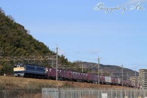 5087レ(=EF65-2065牽引)