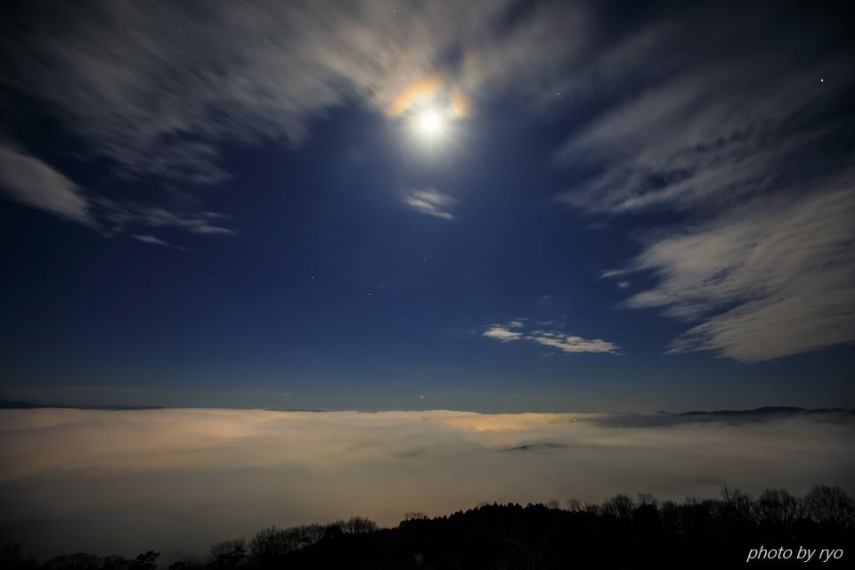 十六夜の霧の海