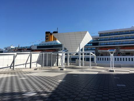 南国クルーズ03晴海客船ターミナル
