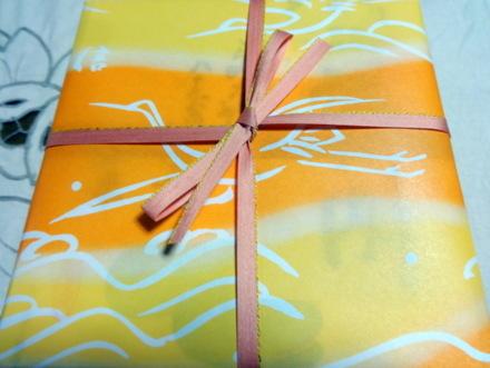 鶴屋吉信の包み紙