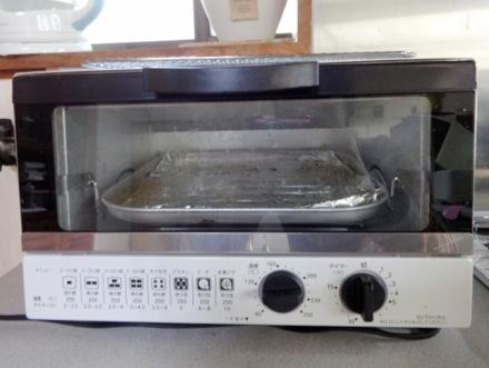 1200ワットのオーブントースター