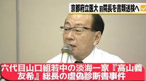 ⑦吉川敏一(医者)と高山義友希(ヤクザ)と警察OBと日本将棋連盟とオカルト籠池森友!