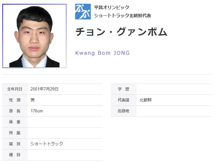 ⑤北朝鮮人国【チョン・グァンボム】が露骨な妨害連発で失格!