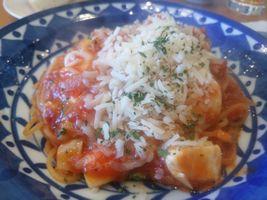 【写真】君津・ペルポンテのモッツァレラチーズのトマトソースパスタ