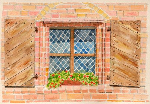 カウナスの窓