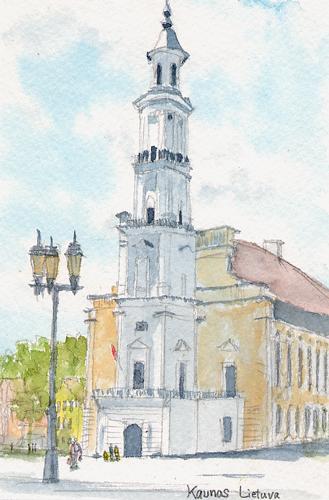 カウナス旧市庁