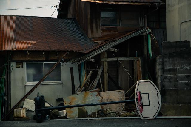 加茂川 米子 古民家 裏通り 撮影 カメラ レンズ
