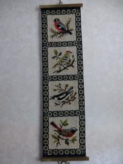 小鳥のタペストリー
