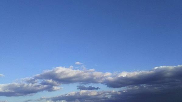 もーちゃん④元旦の空にゃん