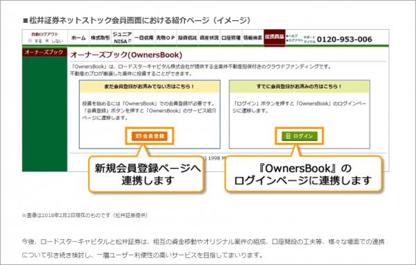 03_オーナーズブックが松井証券と連携開始