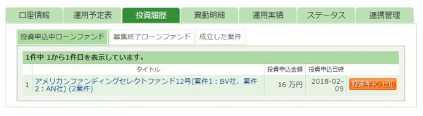 01_maneoに4案件に91万円を分散投資