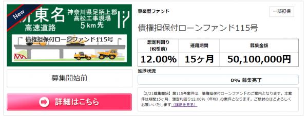 トラストレンディング_新東名高速道路案件