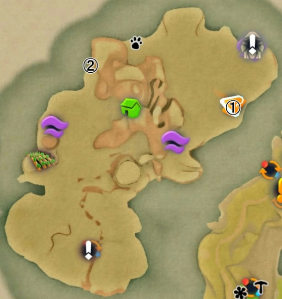 【Yonder PS4 攻略】輝く砂漠の妖精の居場所・発見方法一覧 【青と大地と雲の物語】