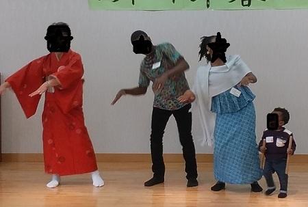 パーティのナイジェリア踊り