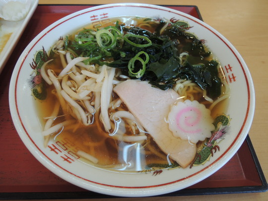 中華そば(410円)