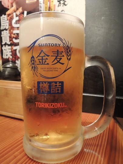 金麦(大)(288.9円)2杯目