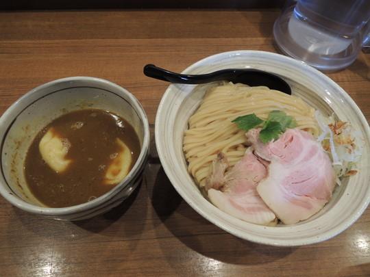スパイシーチキン咖喱つけ麺(特盛)(1150円)