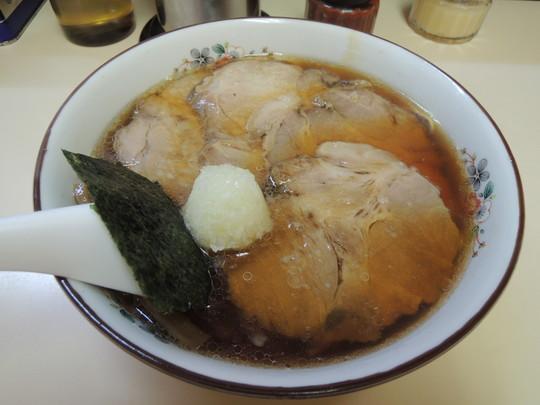 並チャーシュー麺(750円)