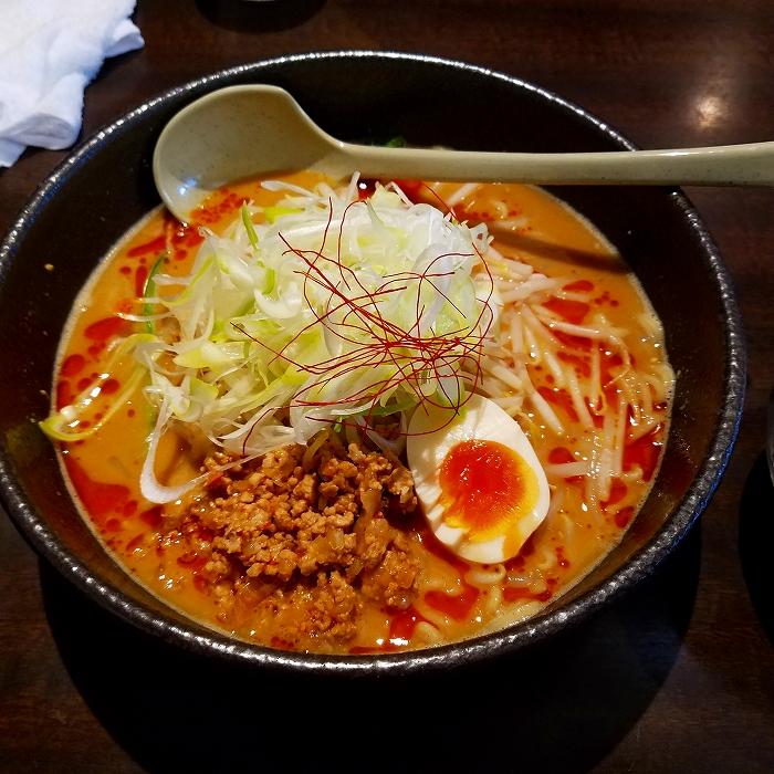 東横愛宕 濃厚担々麺