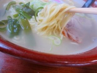 めんたろう 支那そば 麺スープ