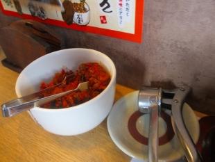まごころ亭 卓上調味料 (2)