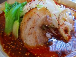 ふじの新津 火焔担々麺 チャーシュー