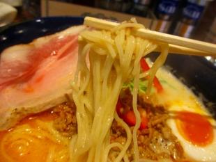颯々木 担々麺 麺