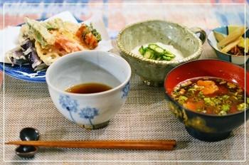 困った時は天ぷら定食