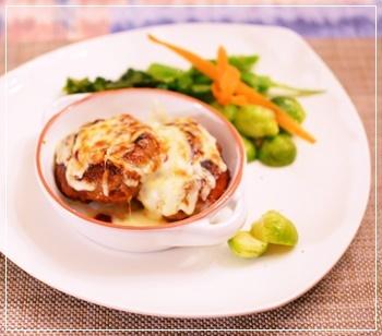 ハンバーグチーズ2