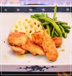 chicken照り焼き