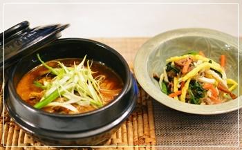 韓国料理で