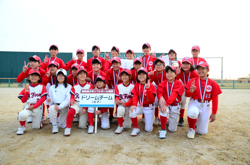 女子準優勝 福岡東