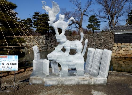 松本城氷彫 (15)