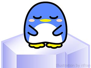 丸っこいペンギン 単体04-2