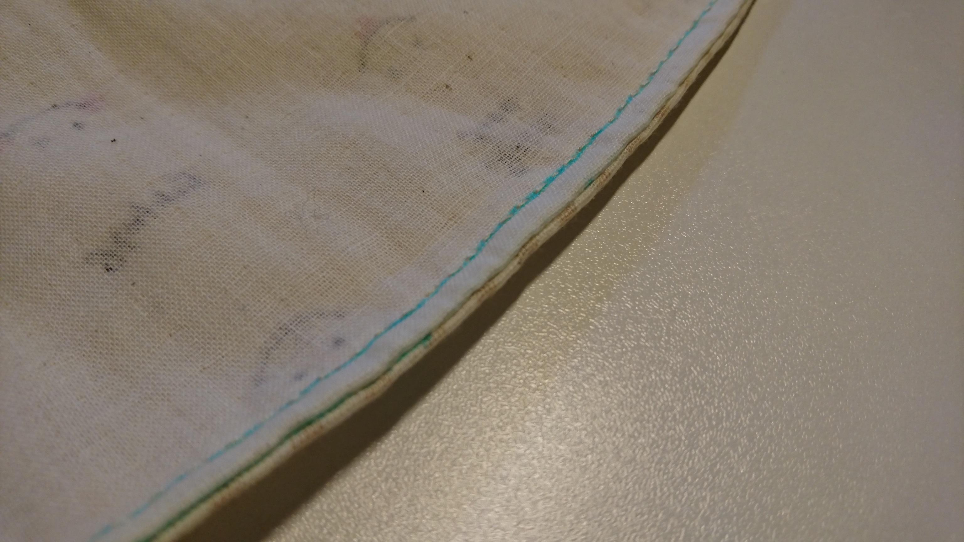袋縫いがめんどくさかったトッポンチーノ