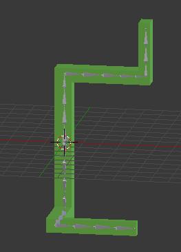 Blenderで作成したオブジェクト