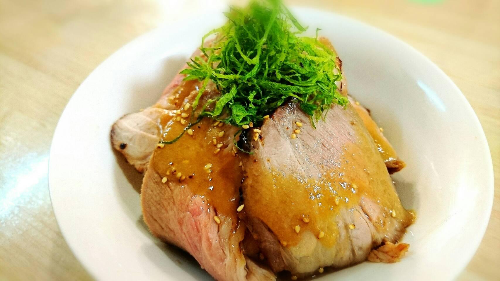 【動画】とろける自家製チャーシュー丼