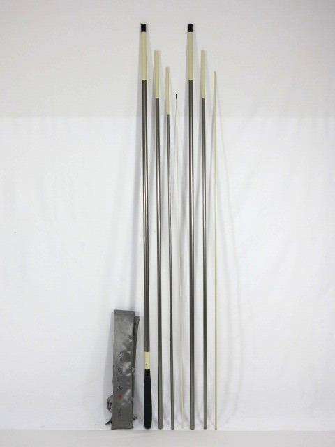 竿 美品 がまかつ がまへら 幻壮天 24尺 ヘラ竿