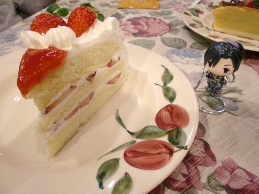 ケーキとちびシーアさん
