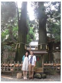 高千穂神社にて