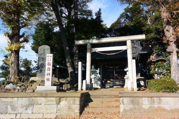 主水新田稲荷神社②