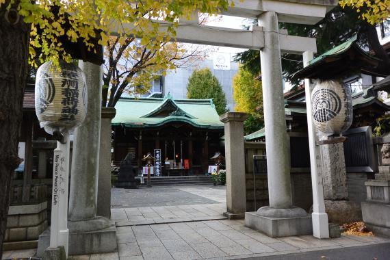 鉄砲洲稲荷神社①