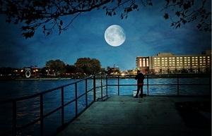 メキシコ、皆既月食時間