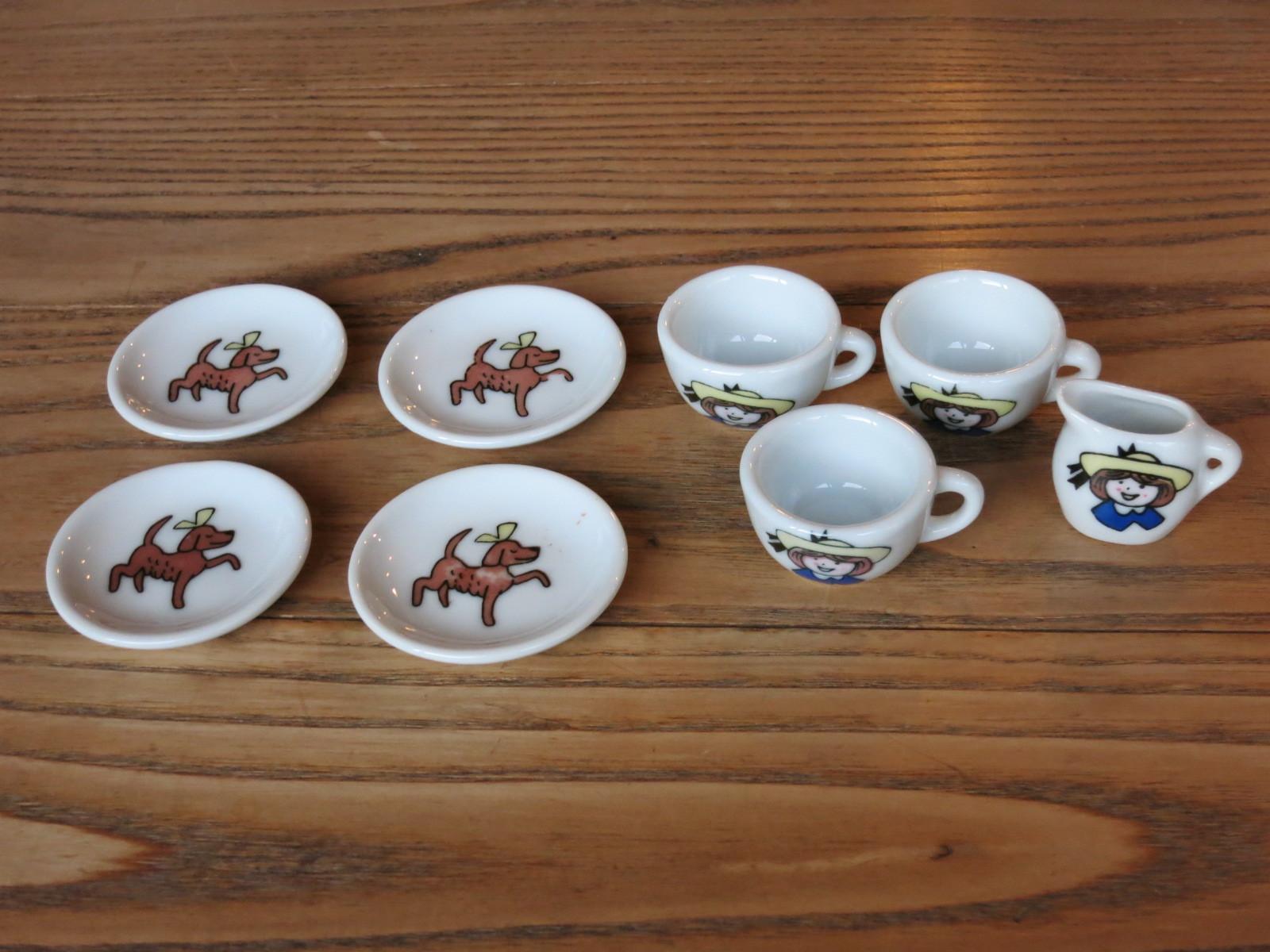 1801 アメリカ買い付け ミニチュア食器セット 陶器
