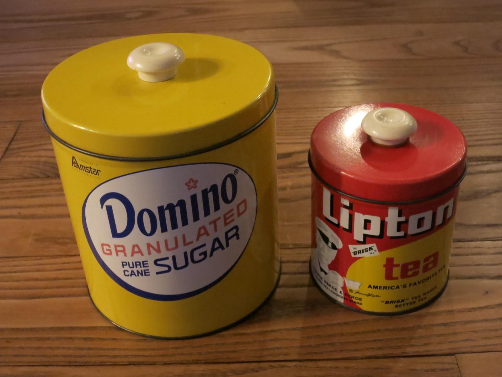 1801 アメリカ買い付け 缶 リプトン