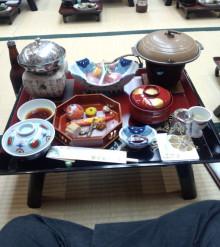 『徒然なる世界』管理人執務室-宴会の食事